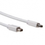 Mini DisplayPort Male - Mini DisplayPort Male Cable 1.5m