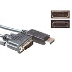Conversion Cable DisplayPort Male - DVI Male 5m