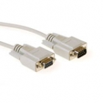 Extension Cable Db9 Male - Db9 Female 1m Ivory