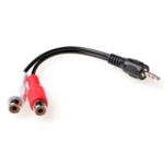 Audio Converter Cable 1x 3.5mm Stereo Jack Male - 2x Rca Female