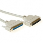 Serial 1:1 Connection Cable 37 Pin D-sub Male - 37 Pin D-sub Female 2m Ivory