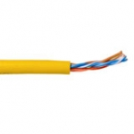 Cat5e Utp Stranded 305m Box Yellow