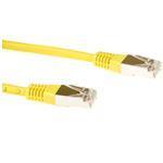 CAT6 Sstp Lszh Patch Cable Yellow 1.5m