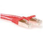 CAT6a Sstp Pimf Patchcable Snagless Red 20m