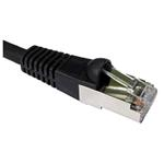 Patch Cable CAT6a S/ftp Pimf Lszh Snagless 1m Black