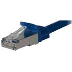 Patch Cable CAT6a S/ftp Pimf Lszh Snagless 25m Blue