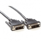 DVI-d Single Link Connection Cable Male - Male 0.5m