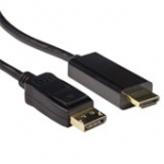 Conversion Cable DisplayPort Male - Hdmi-a Male 1m