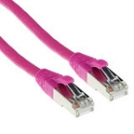 Patch Cable CAT6a S/ftp Pimf Snagless Pink 30m