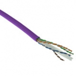 Patch cable - CAT6 - F/UTP - 500m - Violet