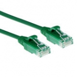 Slimline Patch Cable - CAT6 - U/UTP - 1m - Green