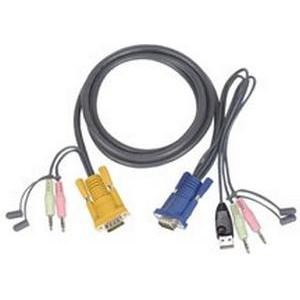 KVM Cable USB For Aten Cs1732/cs1734/cs1754/cs1758 - 5m