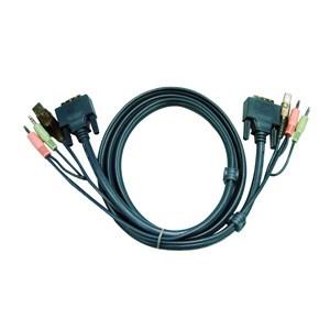 DVI-d Cable Dual Link For Aten Cs1782-84/1642-44 5m - A2l7d05ud