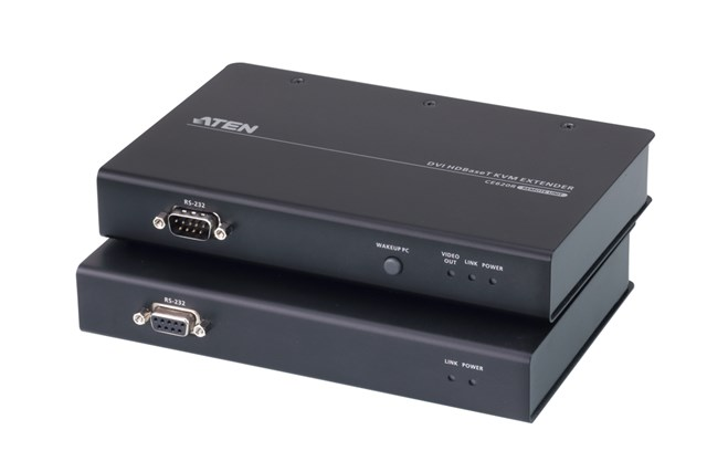 USB 2.0 DVI Single Link Over 1 Cat Cable (100m) KVM Extender With Full USB2.0 Support