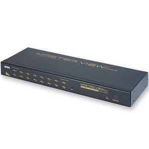 KVM Switch Rackmount 16-port Spdb-15 Ps2 1u High