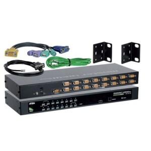 KVM Switch 16-port Ps/2 - USB