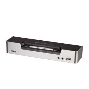 KVM 2 Port USB KVMp Dual DVI / 2.1 Audio