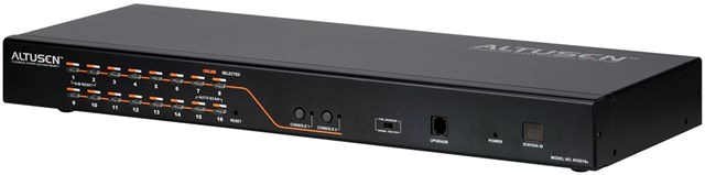 KVM Switch 16-port Cat 5 High Density