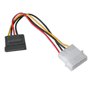 SATA To 4 Pin Power Cable - 0.15m
