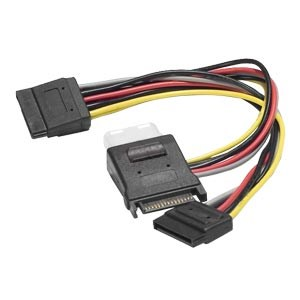 SATA To Molex Y Cable
