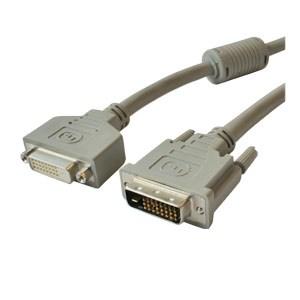 DVI Extension Cable DVI-d Male / DVI-d 24+1 Female 5m