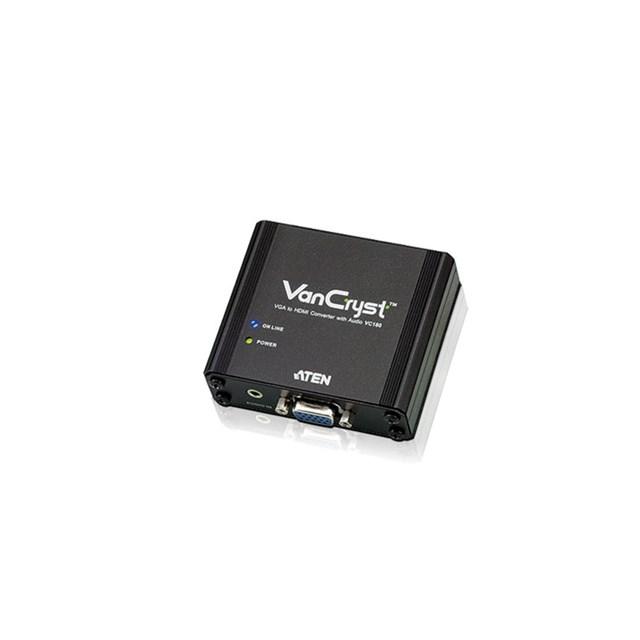 Vga To Hdmi Converter With Audio (vga Powered)