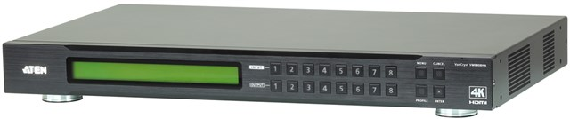 8x8 4k Hdmi Matrix Switch With Remote Control