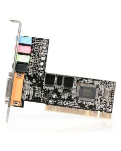STARTECH 4 CHANNEL PCI SOUND CARD WITH AC97 3D AUDIO EFFECTK