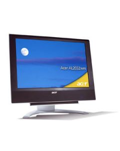"Acer AL2032wm, Widescreen Design 20"" LCD , S-Video, DVI & Analog, SCART 20"" computer monitor"