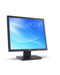 "Acer V193Abdm 19"" Black computer monitor"